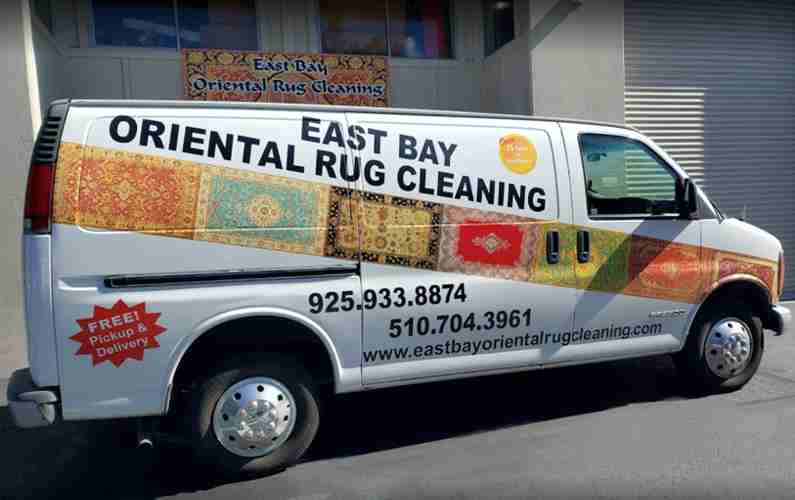 East Bay Oriental Rug Cleaning Pick-up and Delivery