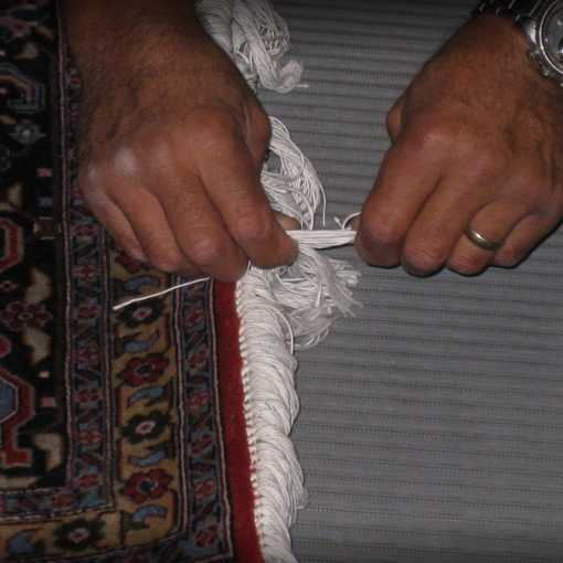 East Bay Oriental Rug Cleaning Fringe Repair